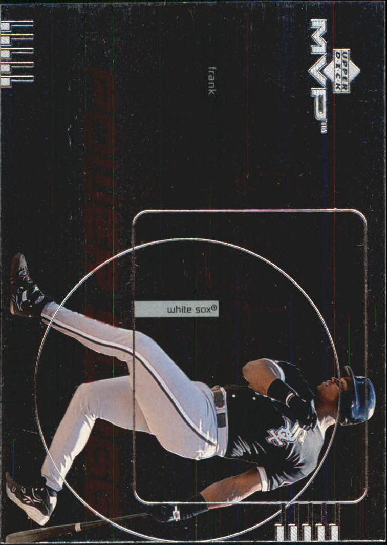 1999 Upper Deck MVP Power Surge #P10 Frank Thomas