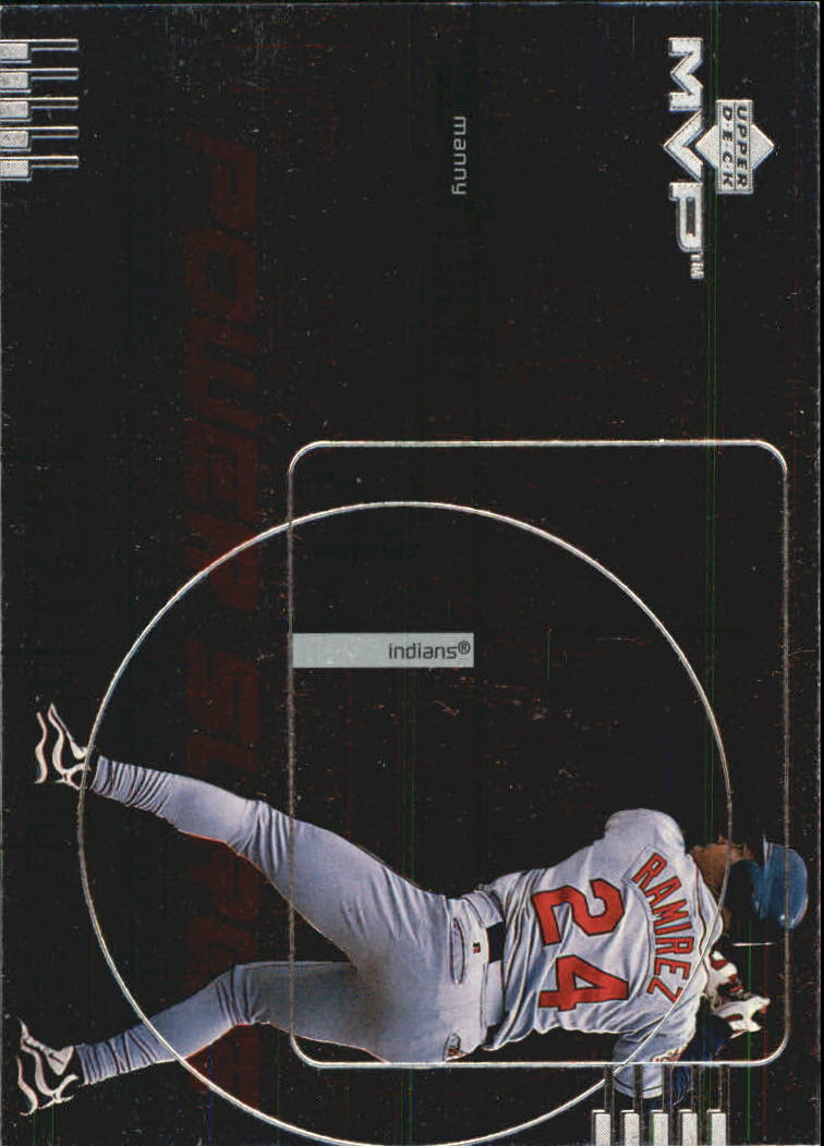 1999 Upper Deck MVP Power Surge #P13 Manny Ramirez