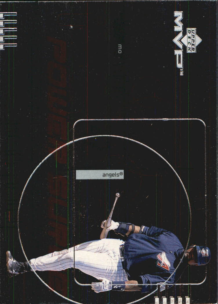 1999 Upper Deck MVP Power Surge #P14 Mo Vaughn