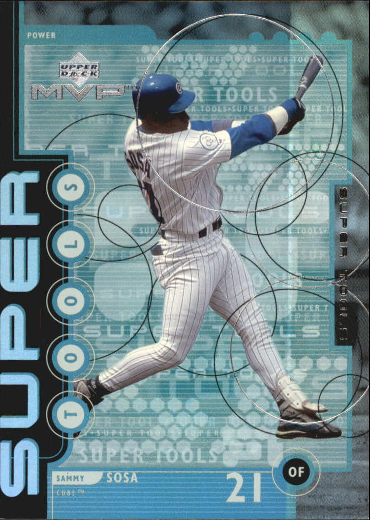 1999 Upper Deck MVP Super Tools #T3 Sammy Sosa