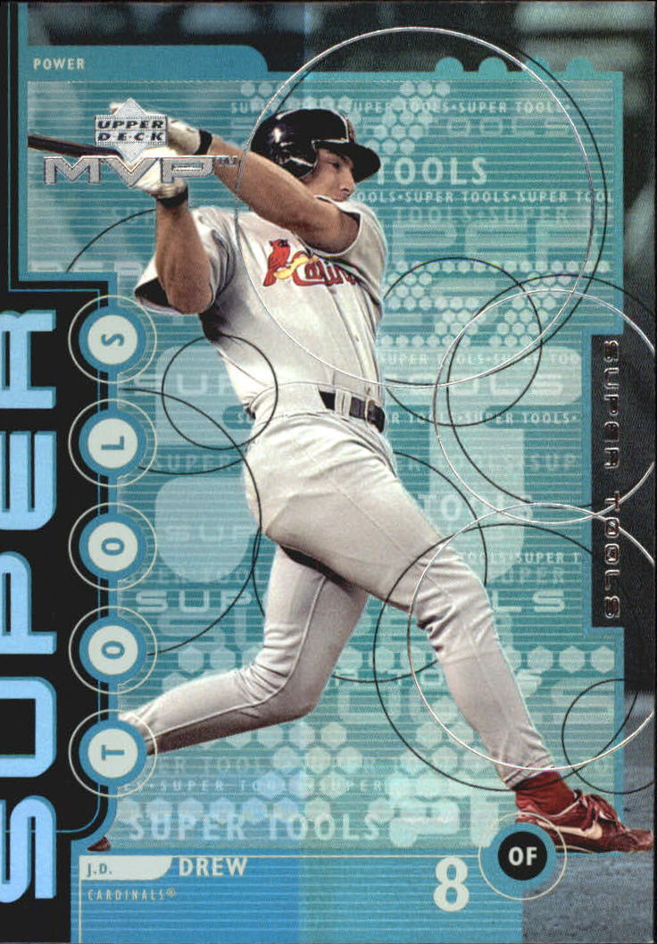 1999 Upper Deck MVP Super Tools #T13 J.D. Drew