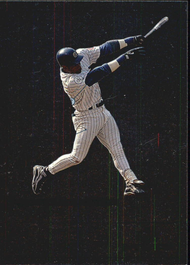 1999 Upper Deck MVP Swing Time #S3 Sammy Sosa front image
