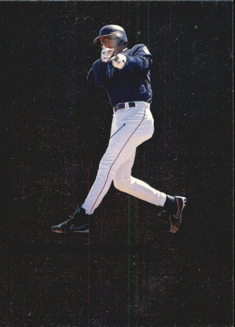 1999 Upper Deck MVP Swing Time #S5 Alex Rodriguez front image