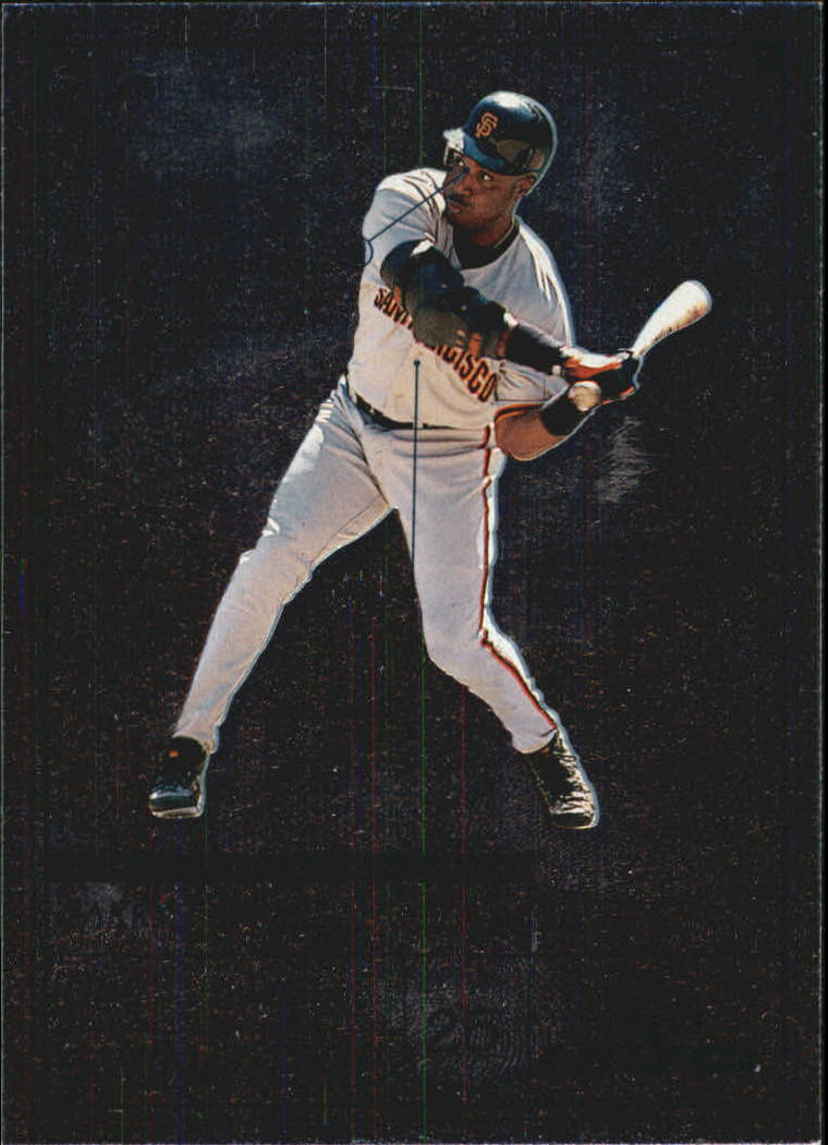1999 Upper Deck MVP Swing Time #S7 Barry Bonds