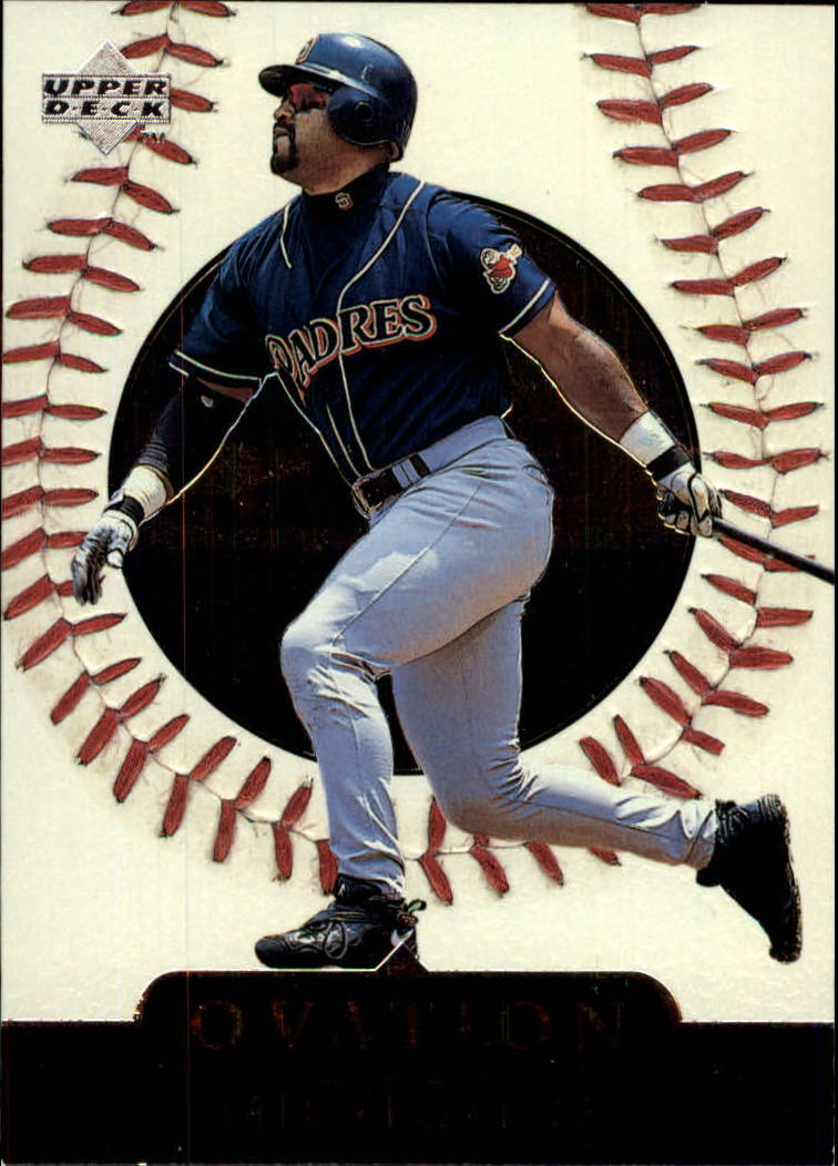 1999 Upper Deck Ovation #6 Greg Vaughn