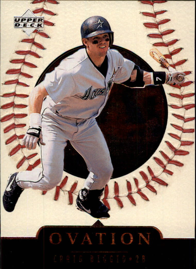 1999 Upper Deck Ovation #10 Craig Biggio