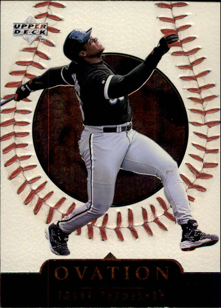 1999 Upper Deck Ovation #14 Frank Thomas