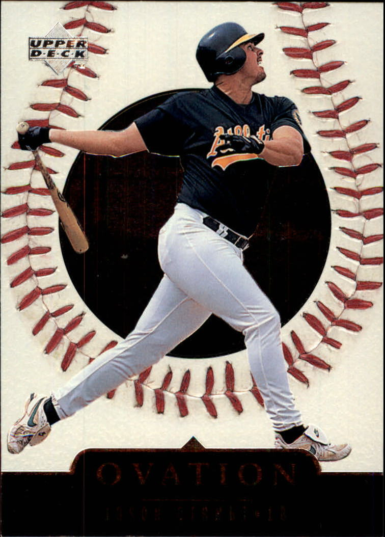 1999 Upper Deck Ovation #22 Jason Giambi