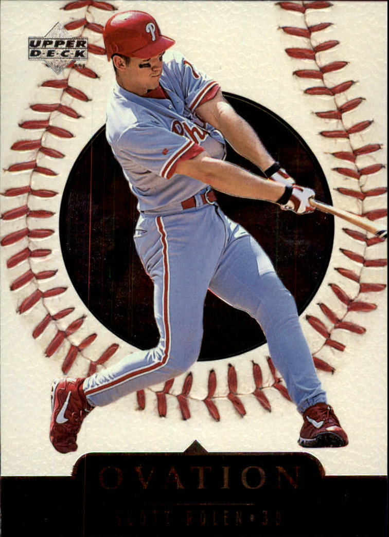 1999 Upper Deck Ovation #24 Scott Rolen