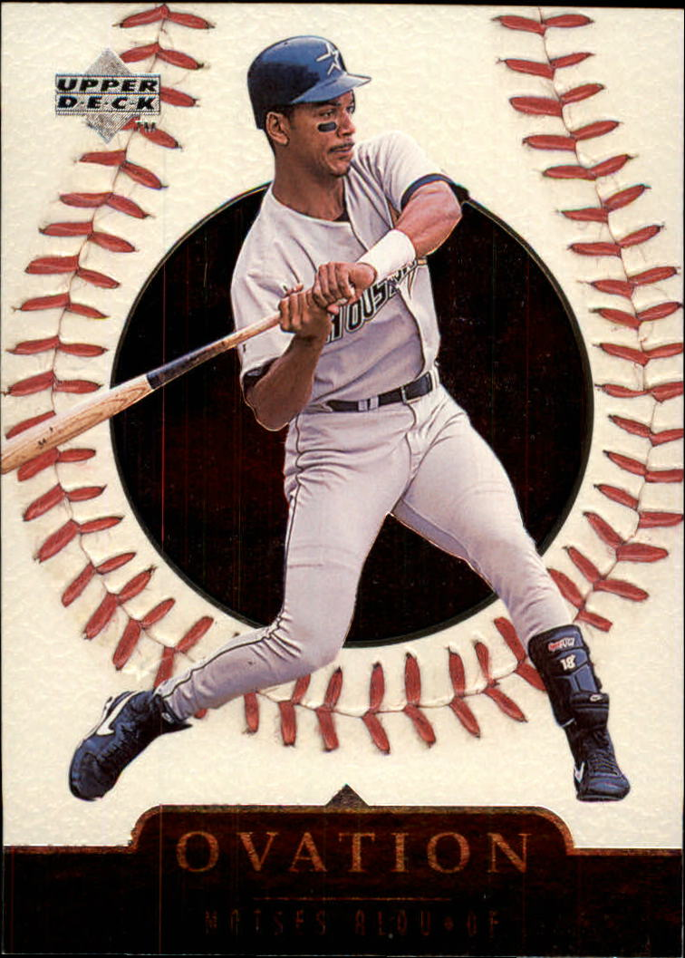 1999 Upper Deck Ovation #27 Moises Alou