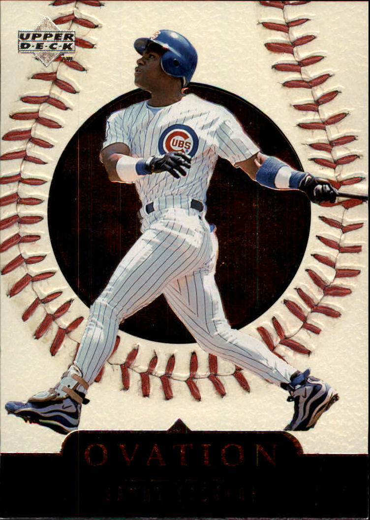 1999 Upper Deck Ovation #40 Sammy Sosa