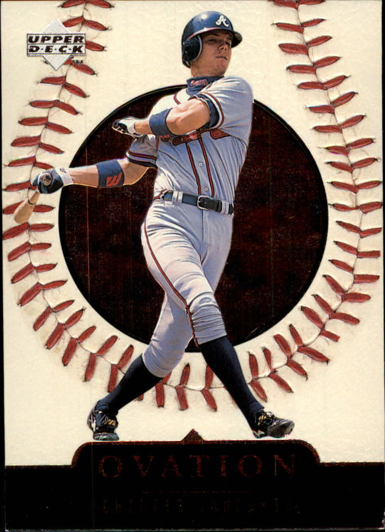 1999 Upper Deck Ovation #56 Chipper Jones