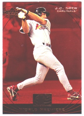 1999 Upper Deck Ovation #61 J.D. Drew WP