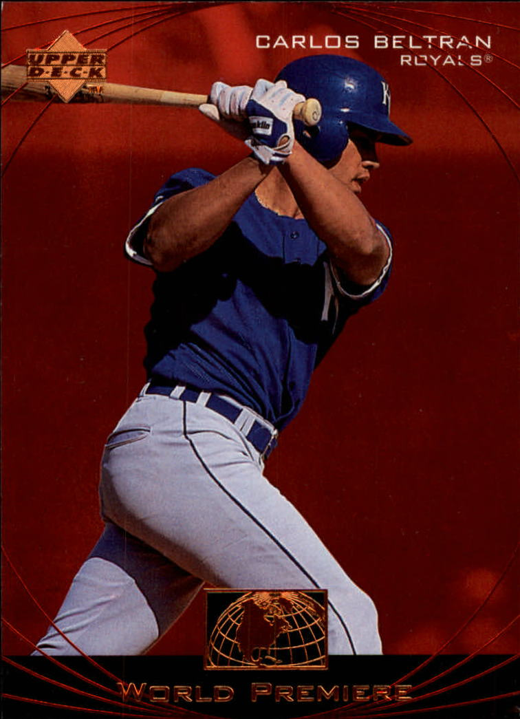1999 Upper Deck Ovation #64 Carlos Beltran WP