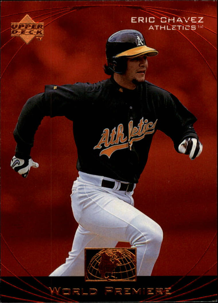 1999 Upper Deck Ovation #65 Eric Chavez WP