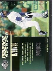 1999 Upper Deck PowerDeck Powerful Moments #P2 Sammy Sosa