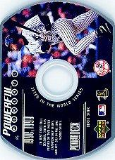 1999 Upper Deck PowerDeck Powerful Moments #P5 Derek Jeter