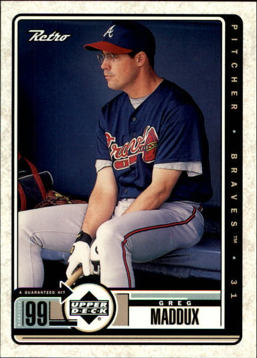 1999 Upper Deck Retro #7 Greg Maddux