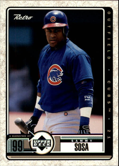 1999 Upper Deck Retro #17 Sammy Sosa