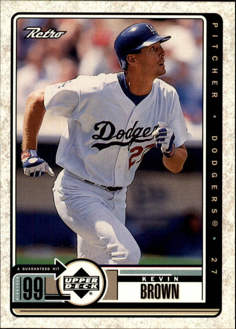 1999 Upper Deck Retro #45 Kevin Brown