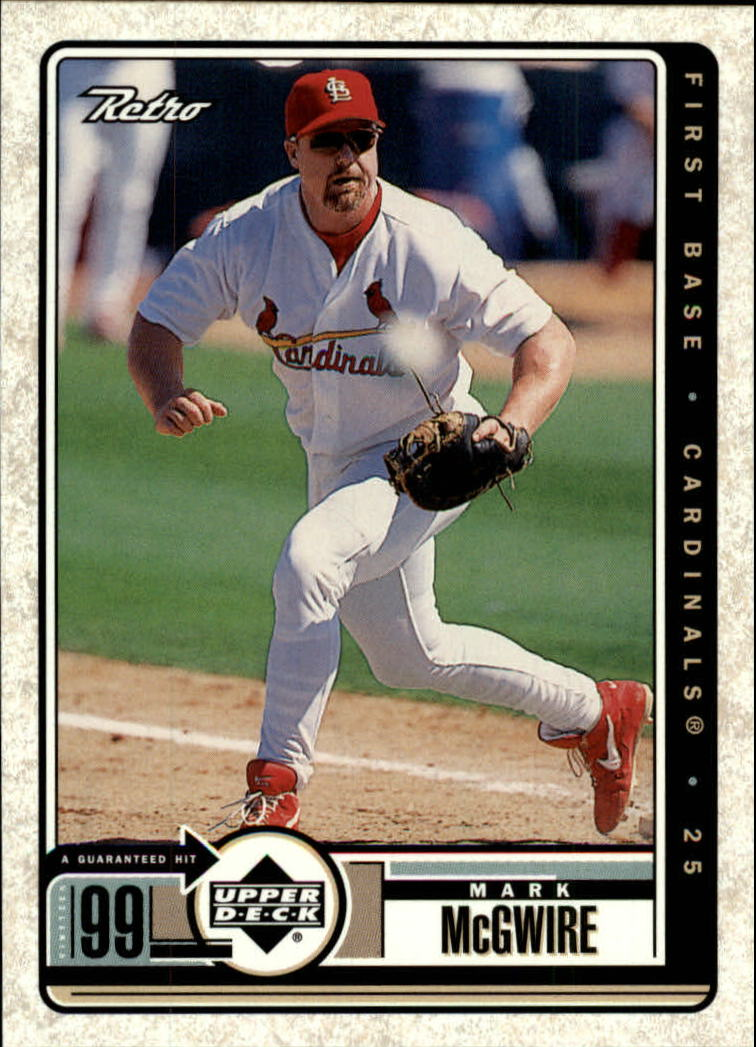 1999 Upper Deck Retro #69 Mark McGwire