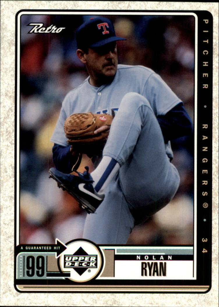 1999 Upper Deck Retro #89 Nolan Ryan