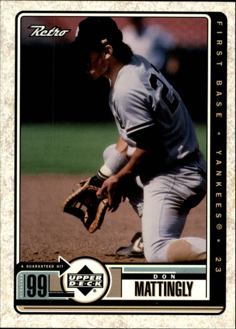 1999 Upper Deck Retro #97 Don Mattingly