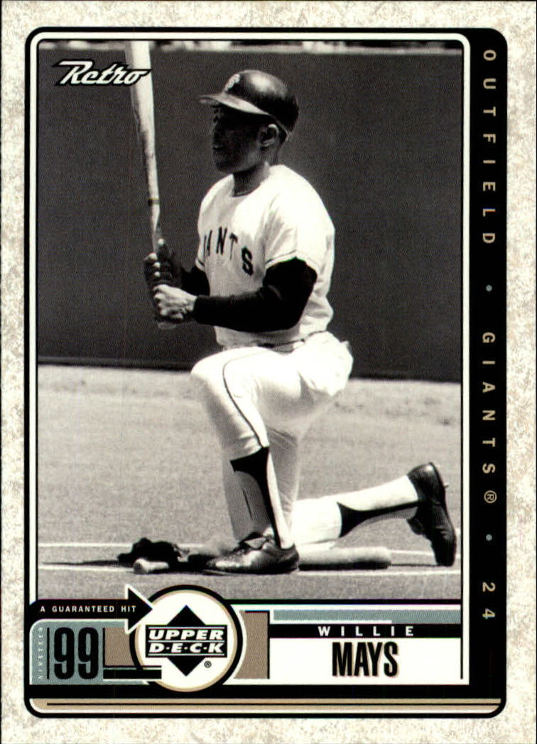 1999 Upper Deck Retro #103 Willie Mays
