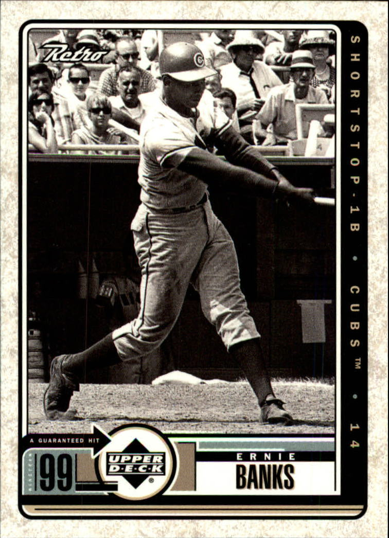 1999 Upper Deck Retro #108 Ernie Banks