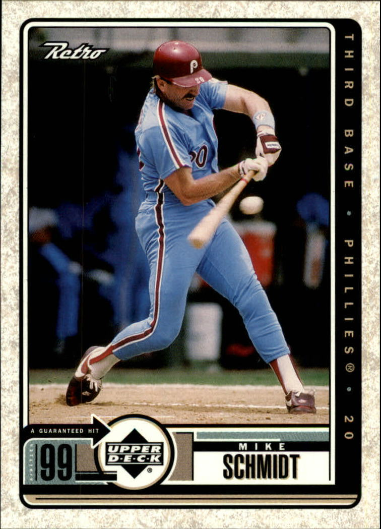1999 Upper Deck Retro #110 Mike Schmidt