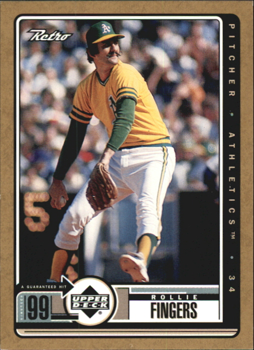 1999 Upper Deck Retro Gold #100 Rollie Fingers