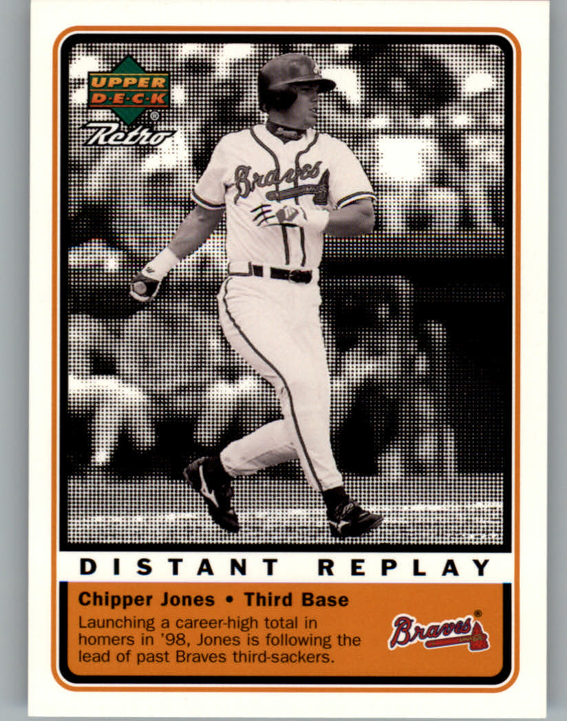 1999 Upper Deck Retro Distant Replay #D10 Chipper Jones