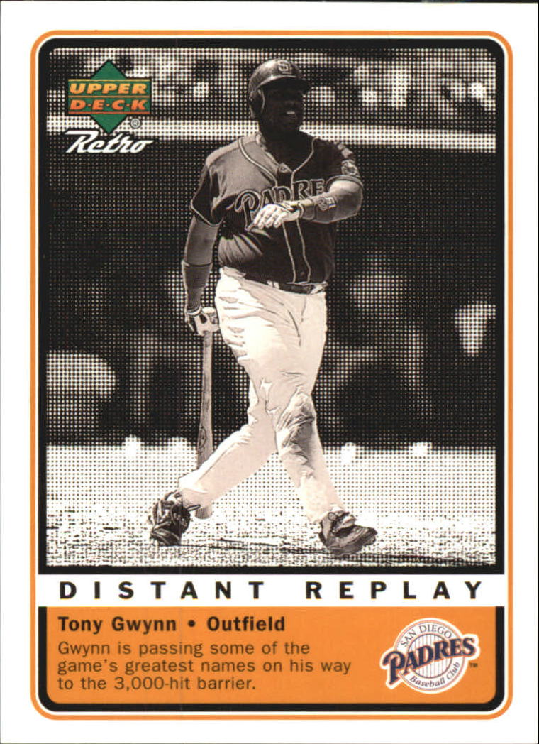 1999 Upper Deck Retro Distant Replay #D12 Tony Gwynn