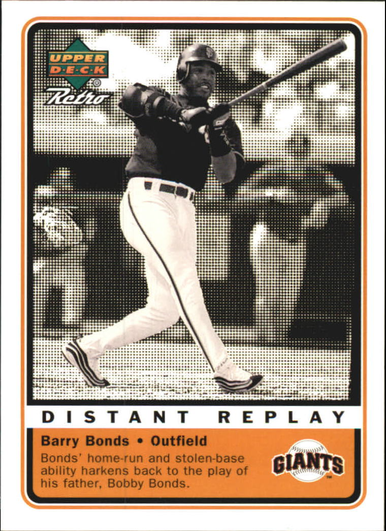 1999 Upper Deck Retro Distant Replay #D13 Barry Bonds