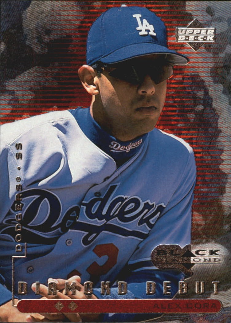 1999 Black Diamond Double #104 Alex Cora DD