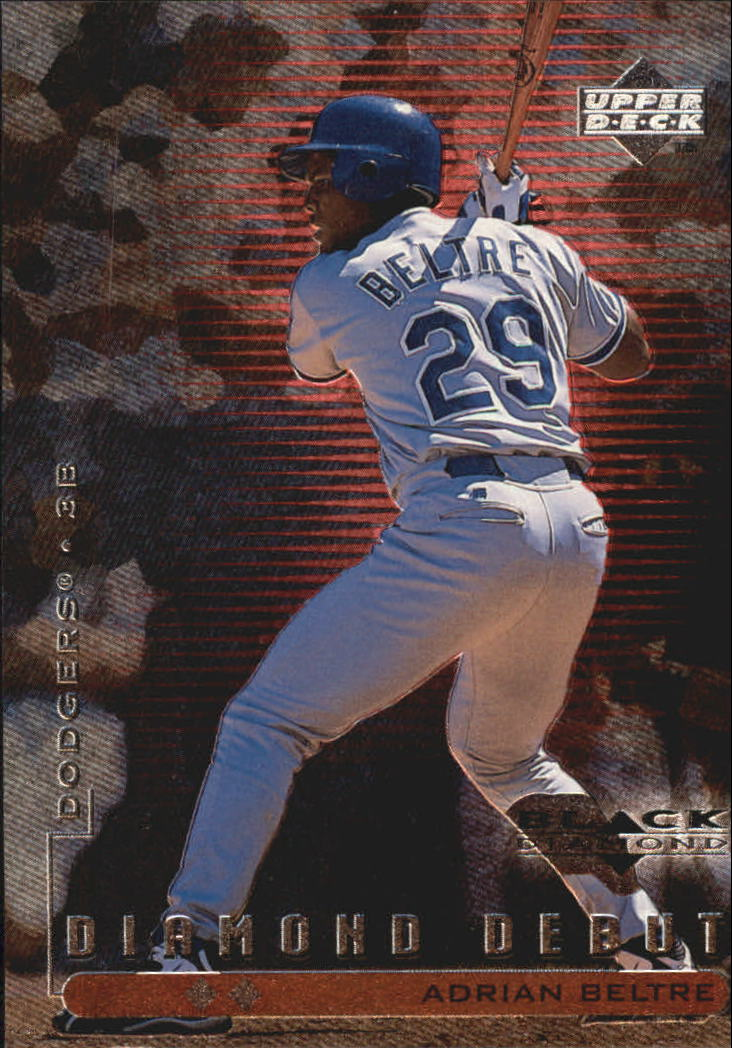 1999 Black Diamond Double #105 Adrian Beltre DD