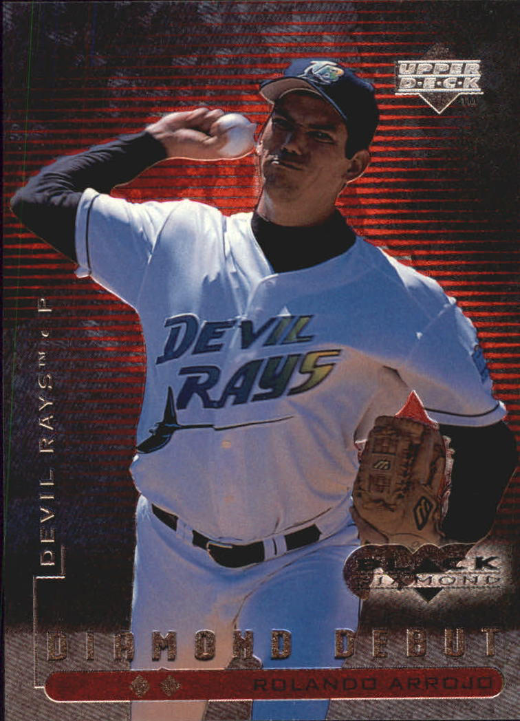 1999 Black Diamond Double #119 Rolando Arrojo DD