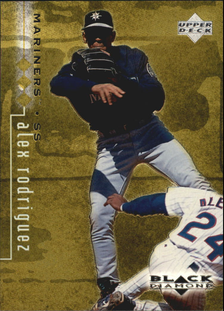 1999 Black Diamond Triple #77 Alex Rodriguez