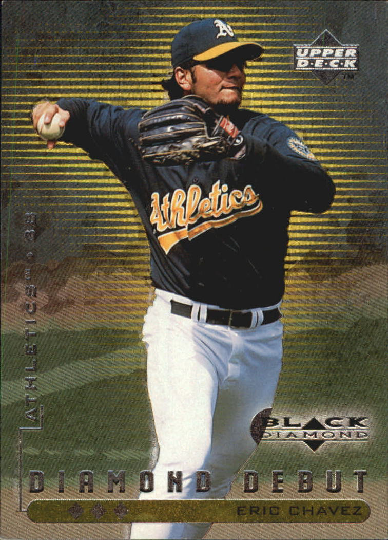 1999 Black Diamond Triple #109 Eric Chavez DD