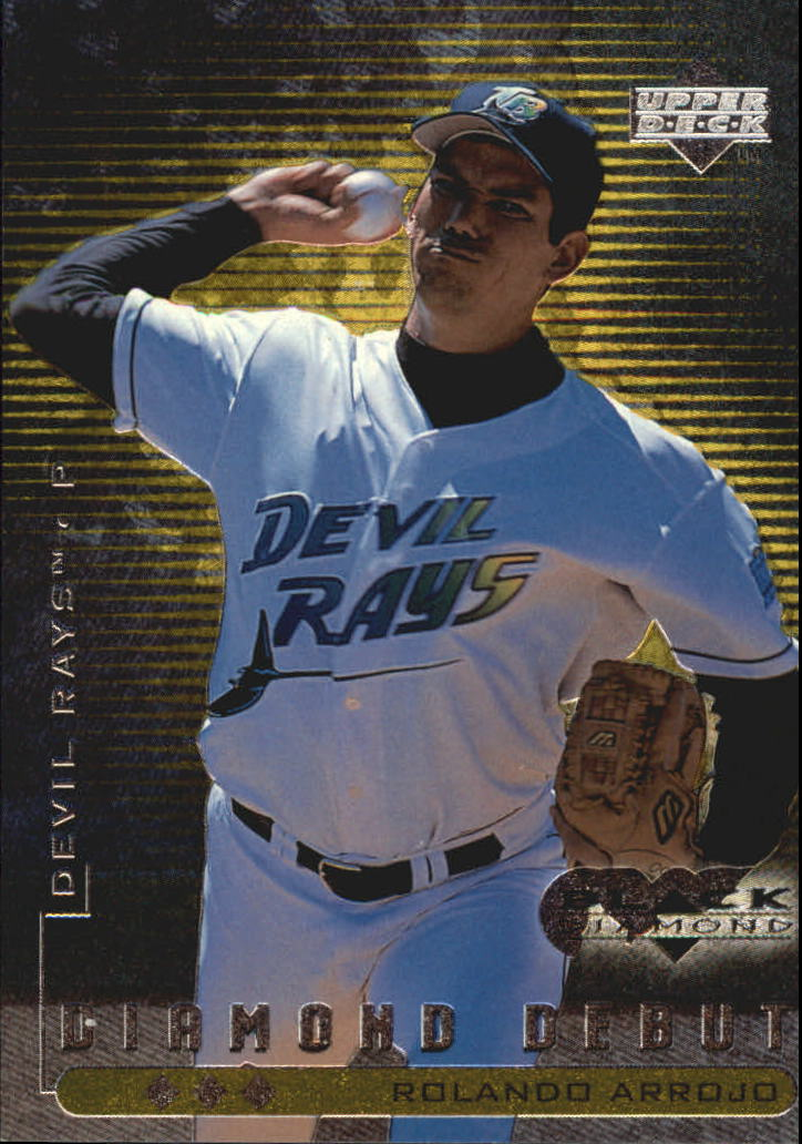 1999 Black Diamond Triple #119 Rolando Arrojo DD