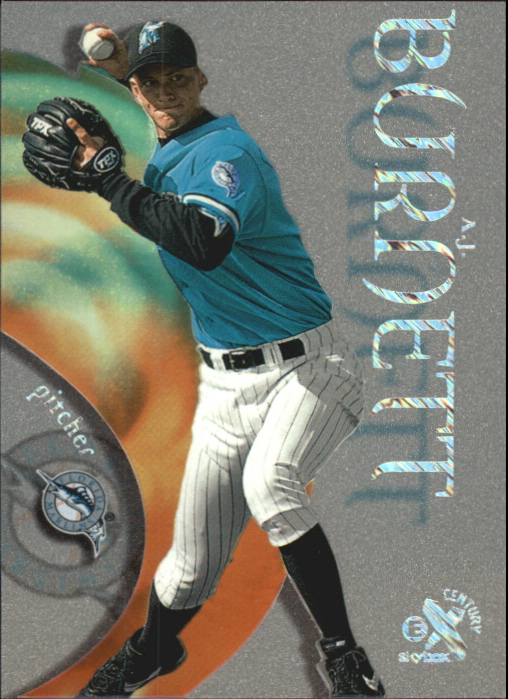 1999 E-X Century Essential Credentials Now #119 A.J. Burnett/119