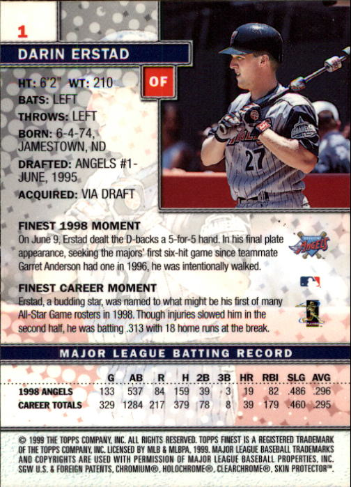 1999-Finest-Baseball-1-279-Finish-Your-Set-GOTBASEBALLCARDS thumbnail 3