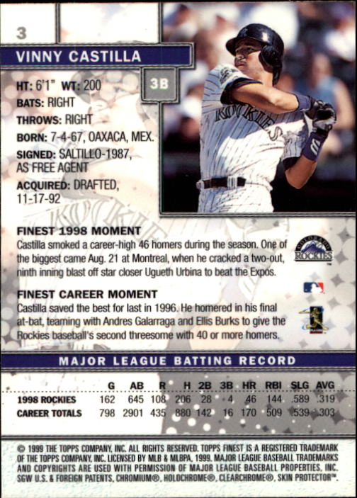 1999-Finest-Baseball-1-279-Finish-Your-Set-GOTBASEBALLCARDS thumbnail 7