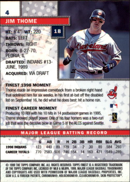 1999-Finest-Baseball-1-279-Finish-Your-Set-GOTBASEBALLCARDS thumbnail 9