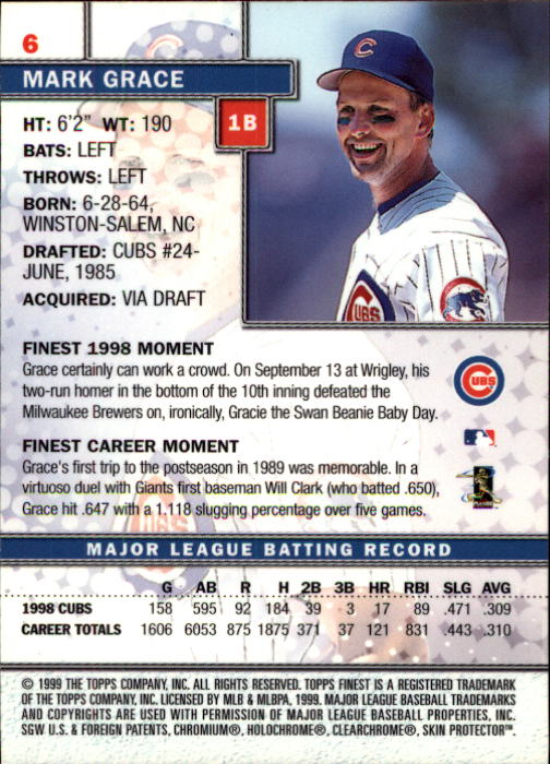 1999-Finest-Baseball-1-279-Finish-Your-Set-GOTBASEBALLCARDS thumbnail 13