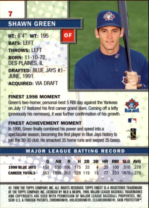 1999-Finest-Baseball-1-279-Finish-Your-Set-GOTBASEBALLCARDS thumbnail 15