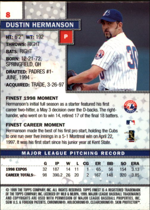 1999-Finest-Baseball-1-279-Finish-Your-Set-GOTBASEBALLCARDS thumbnail 17