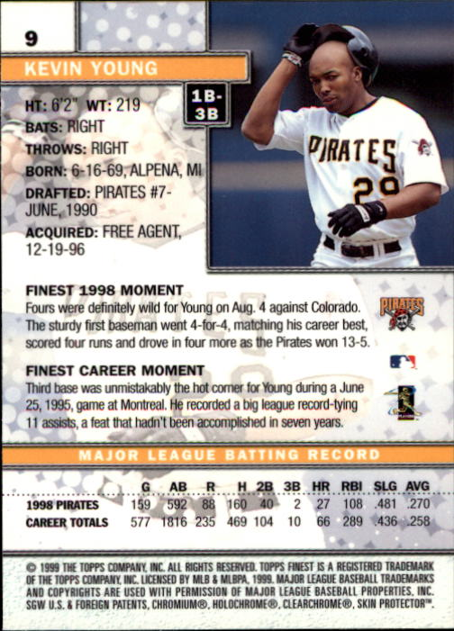 1999-Finest-Baseball-1-279-Finish-Your-Set-GOTBASEBALLCARDS thumbnail 19