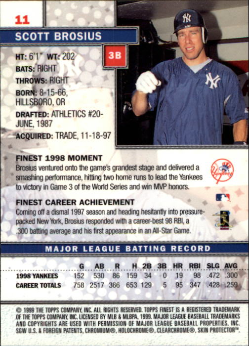 1999-Finest-Baseball-1-279-Finish-Your-Set-GOTBASEBALLCARDS thumbnail 23