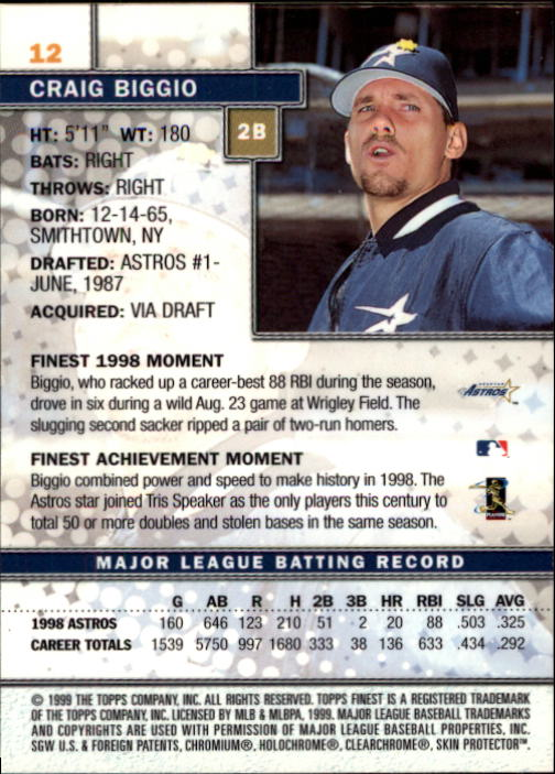 1999-Finest-Baseball-1-279-Finish-Your-Set-GOTBASEBALLCARDS thumbnail 25